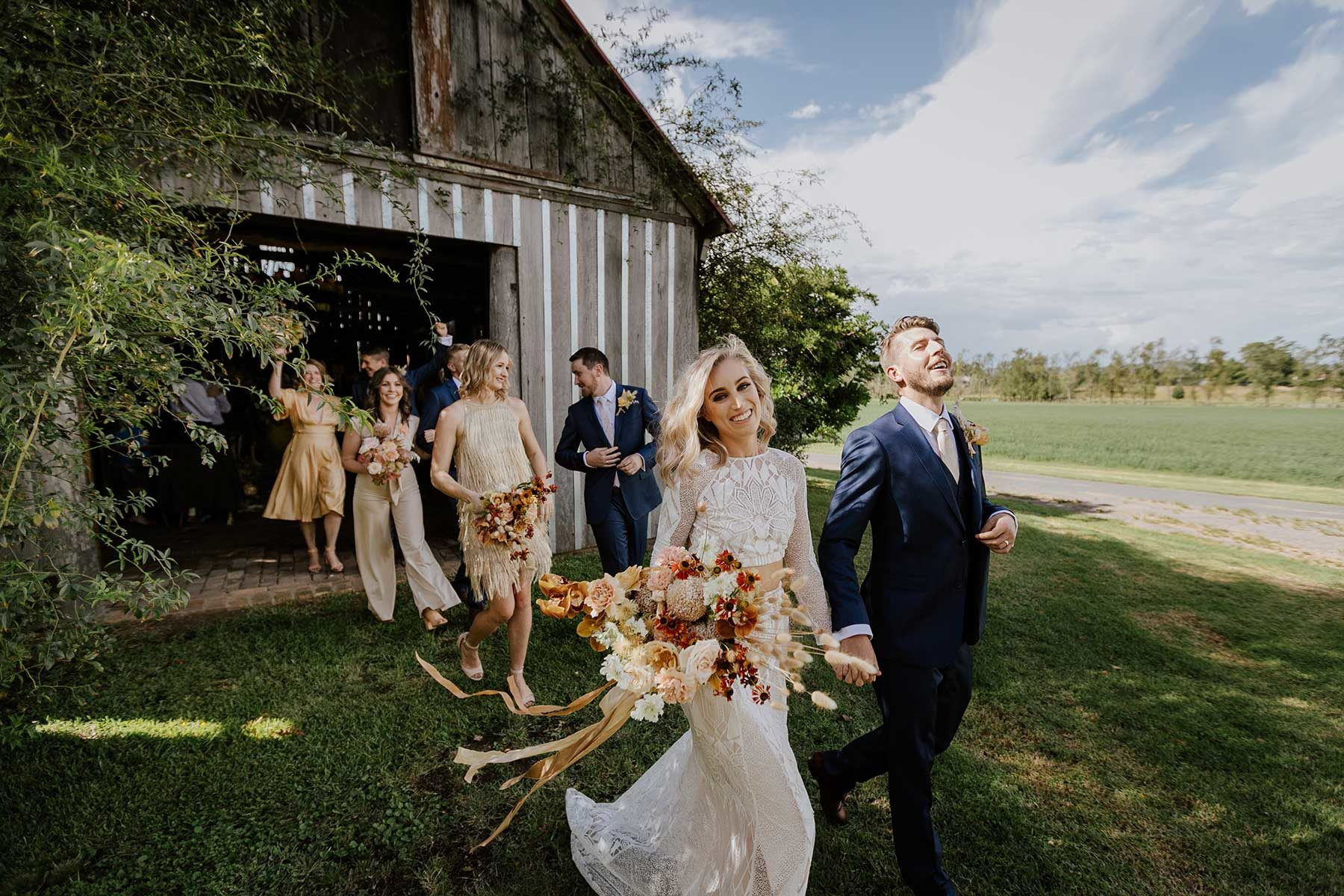 Hunter valley wedding venue barn
